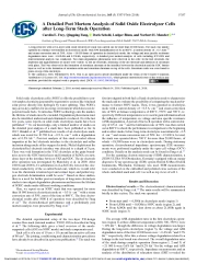 A Detailed Post Mortem Analysis of Solid Oxide Electrolyzer